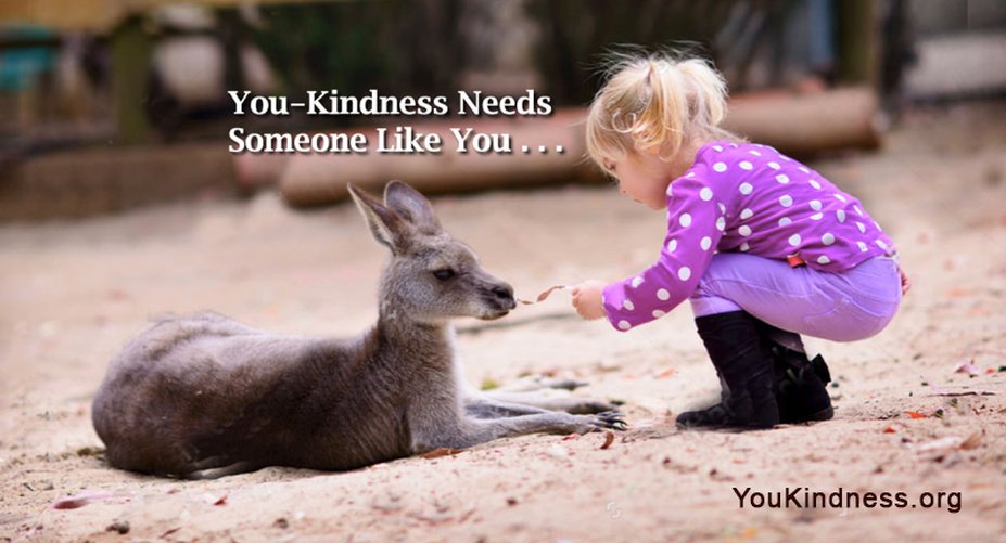 You-Kindness needs you