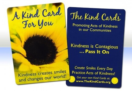 Kind cards creates smiles