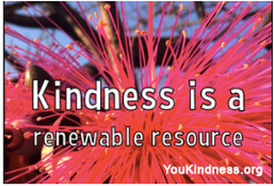 Kindness is a renewable resource